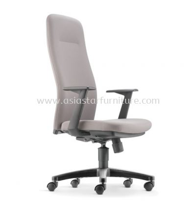 ARONA EXECUTIVE HIGH BACK CHAIR C/W POLYPROPYLENE BASE AR 5310F