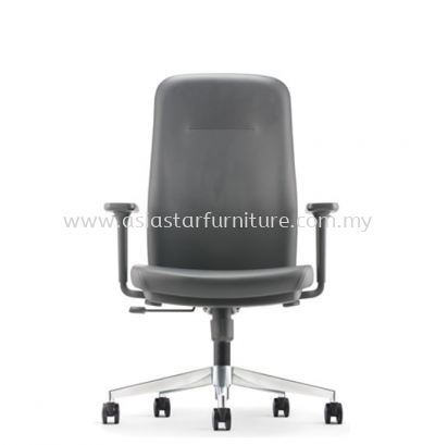 ARONA EXECUTIVE MEDIUM BACK CHAIR C/W ALUMINIUM DIE-CAST BASE AR 5311L
