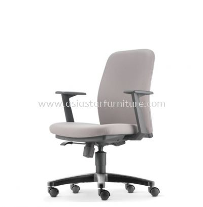 ARONA EXECUTIVE LOW BACK CHAIR C/W POLYPROPYLENE BASE AR 5312F