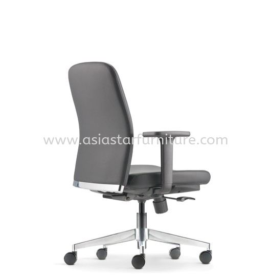 ARONA EXECUTIVE LOW BACK CHAIR C/W ALUMINIUM DIE-CAST BASE AR 5312L