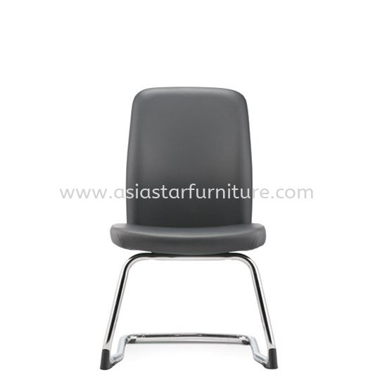 ARONA EXECUTIVE VISITOR BACK CHAIR WITHOUT ARMREST C/W CHROME CANTILEVER BASE AR 5314L
