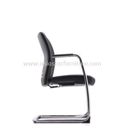 ERGO EXECUTIVE VISITOR BACK CHAIR WITH CHROME CANTILEVER BASE ER383L