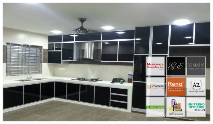 Economic Aluminium Kitchen Cabinet In Selangor - List 2