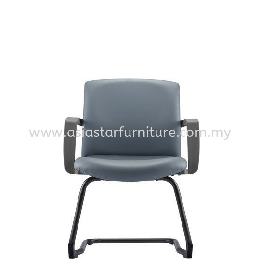 FITS EXECUTIVE VISITOR BACK CHAIR WITH EPOXY BLACK CANTILEVER BASE AFTL7113