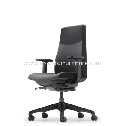 HUGO EXECUTIVE LOW BACK CHAIR WITH ROCKET NYLON BASE AHG 6212F