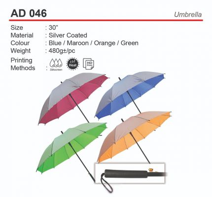 "30"" Auto Umbrella (AD 046)"