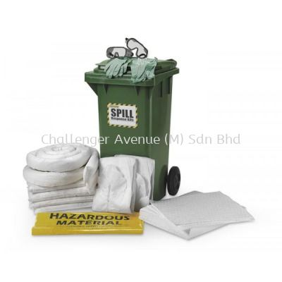 Oil Spill Kit - 120L (Cart)
