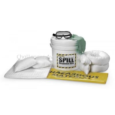 Oil Spill Kit - 18L (Portable)