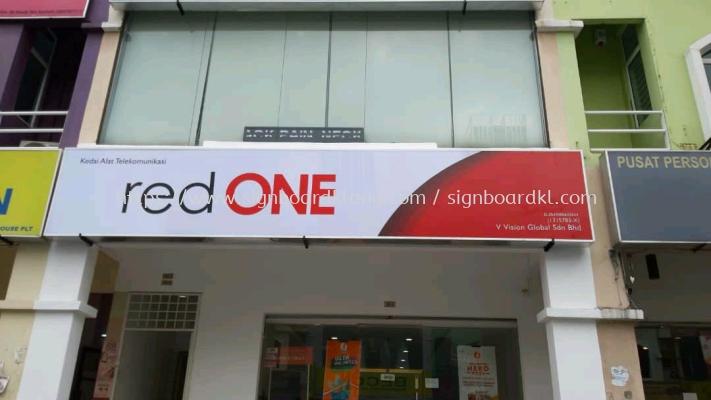 red one network sdn bhd normal light box at rawang Kuala Lumpur