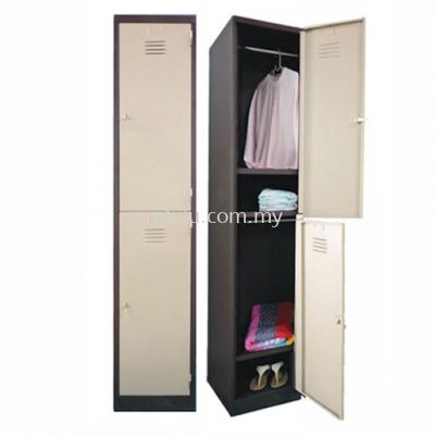 2 Compartment Steel Locker (G1-SL-2-15)