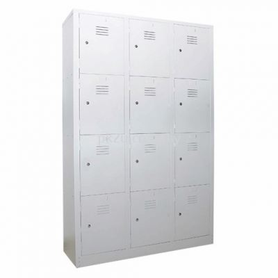 12 Compartment Steel Locker (G1-SL-13-15)