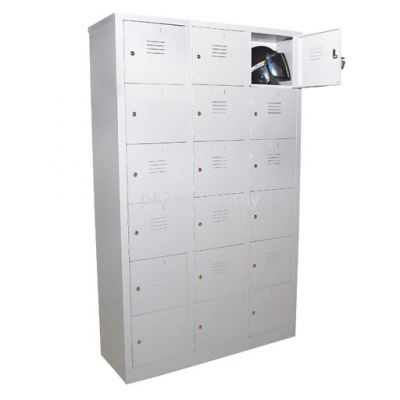 18 Compartment Steel Locker (G1-SL-17-15)