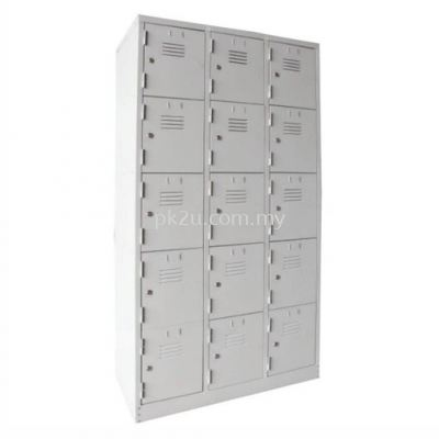 15 Compartment Steel Locker (G1-SL-15-15)