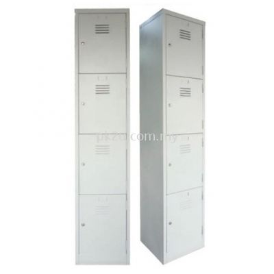 4 Compartment Steel Locker (G1-SL-4-15)
