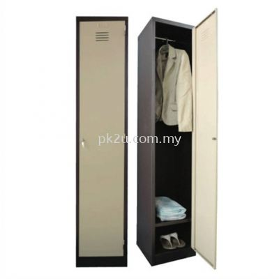1 Compartment Steel Locker (G1-SL-1-15)