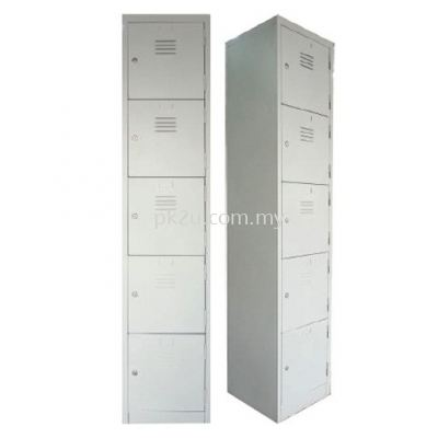 5 Compartment Steel Locker (G1-SL-5-15)