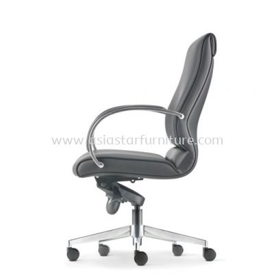 KLAIR EXECUTIVE MEDIUM BACK CHAIR WITH ALUMINIUM BASE KL-2L