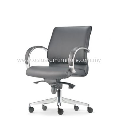 KLAIR EXECUTIVE LOW BACK CHAIR WITH ALUMINIUM DIE-CAST BASE KL-3L