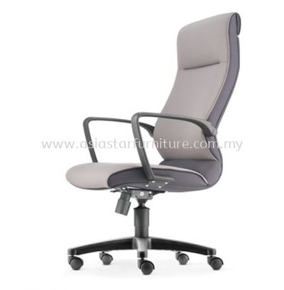 KLAIR EXECUTIVE HIGH BACK CHAIR WITH POLYPROPYLENE BASE KL-1F