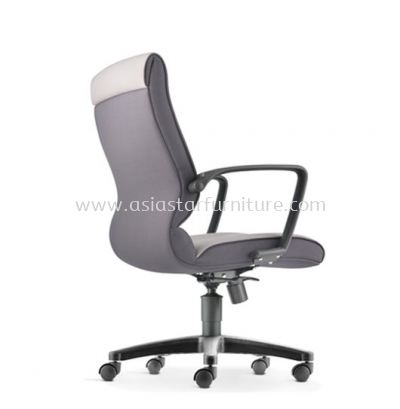 KLAIR EXECUTIVE MEDIUM BACK CHAIR WITH POLYPROPYLENE BASE KL-2F