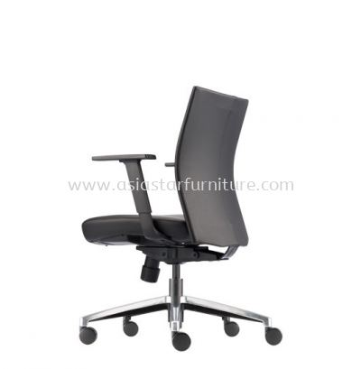 MESH ll EXECUTIVE LOW BACK CHAIR WITH ALUMINIUM DIE-CAST BASE MH-3L