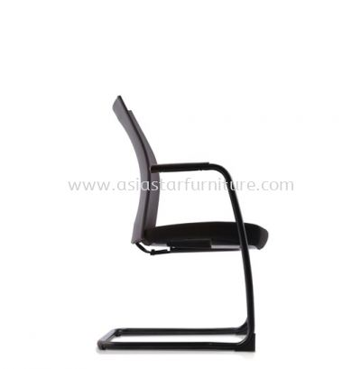 MESH II EXECUTIVE VISITOR MESH BACK CHAIR C/W EPOXY BLACK CANTILEVER BASE MH-4N