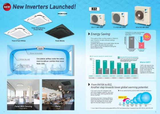 Daikin R32 SkyAir Single-Split Inverter Series Air-Conditioner (Daikin Malaysia)