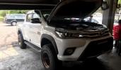 Gazpromneft Diesel Premium 15W-40 CI-4 in Toyota Hilux Revo