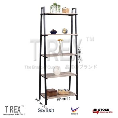 2M MIRO 5 Tier Display Rack / Storage Rack / Display Stand (Black)