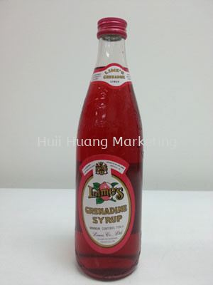 Red Grenadine Syrup 石榴糖浆