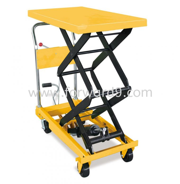 LTD35-350kgs Double Scissor Lift Table  Manual Lift Table  Lift Table Material Handling Equipment