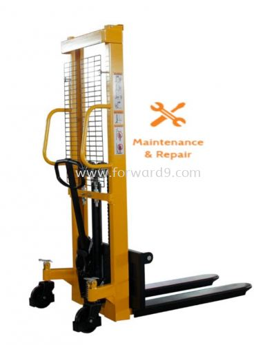Manual Stacker Repairing & Maintenance & Servicing