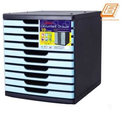 Niso Document Drawer 10 Tier - (8855)