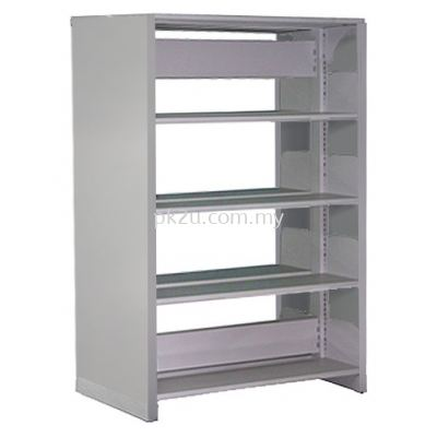 Double Sided Library Shelving - 8 Shelves (A1-DSLS-4L-SP)