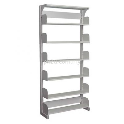 Single Sided Library Shelving - 6 Shelves (A1-SSLS-6L-OP)