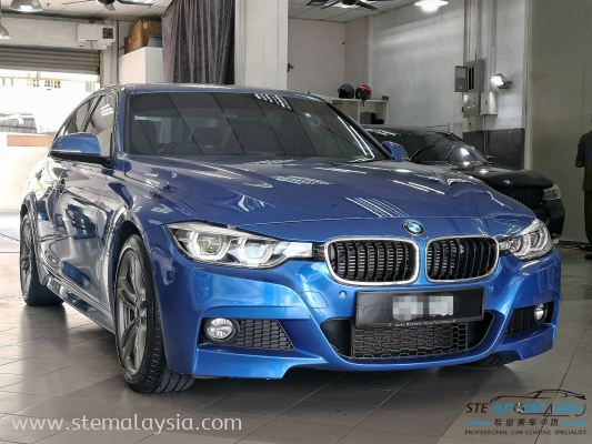 Brand new BMW 330E MSPORT F30 is protect by STE Coating.