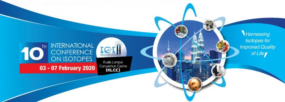 10th International Conference on Isotopes (10ICI) 2020 February 2020