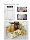 Black jar 428ml(5.5cm x 20cm) Dia 55 jar series Plastic Jar