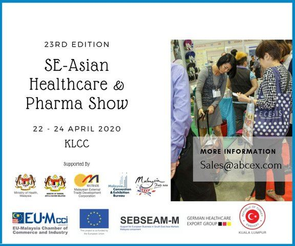 23rd edition SE-Asian Healthcare & Pharma Show April 2020