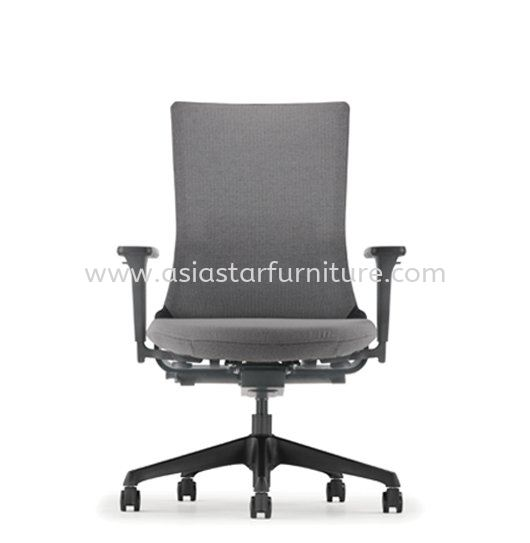 ROYSES MEDIUM BACK SOFTECH CHAIR C/W NYLON ROCKET BASE  ARC 8511F