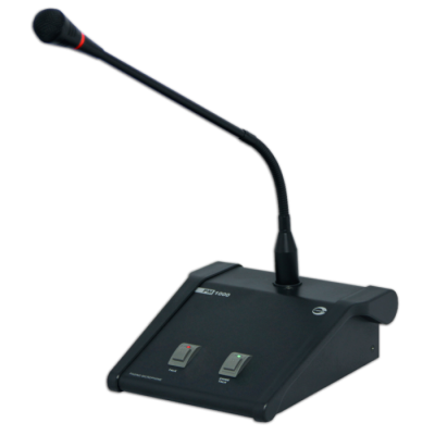 Amperes PM1000 Desktop Paging Microphone