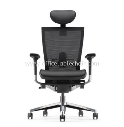 MAXIM HIGH BACK MESH CHAIR WITH ALUMINIUM BASE AMX 8110L-D