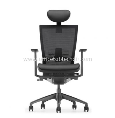 MAXIM HIGH BACK MESH CHAIR WITH NYLON BASE AMX 8110N-A