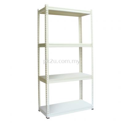 Light Duty Boltless Rack With Steel Panel