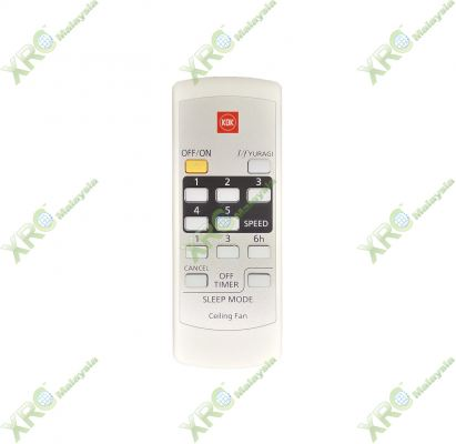 K15Y2 KDK CEILING FAN REMOTE CONTROL
