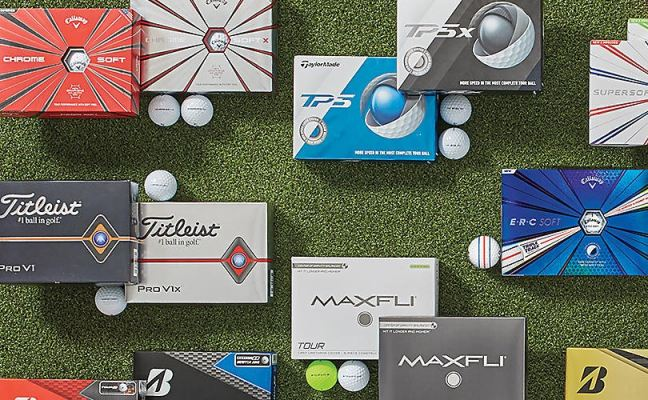 Top Level Golf Balls