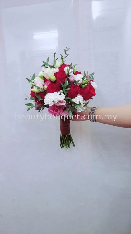 BC 013 Bridal Bouquet & Car