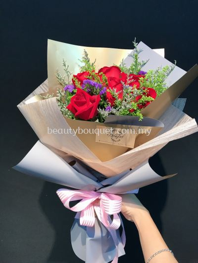 RB 063 Roses Bouquet