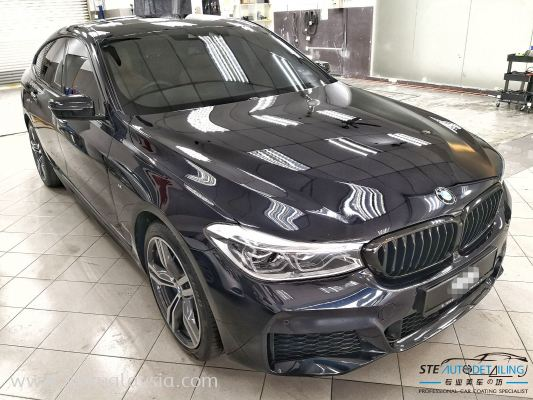 The All-New BMW 630i GT M-Sport , now looking stunning and beautiful after Our STE Coating here at STE Auto Detailing .