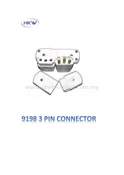 Wanyip 9198 10a 3pin Plug & Socket